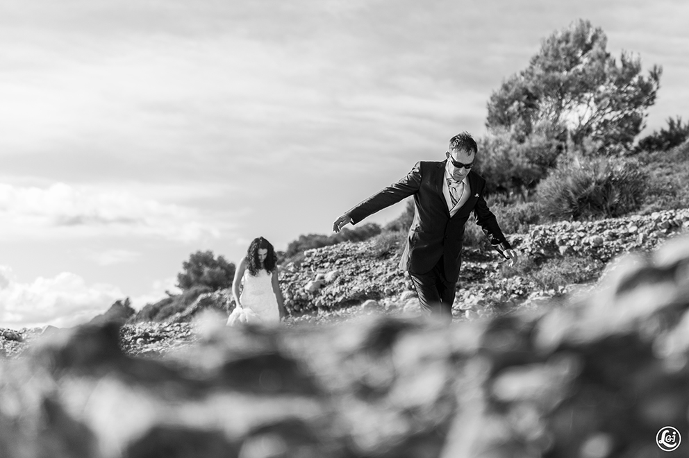 fotografos boda zaragoza postboda sant carles de la ràpita playa